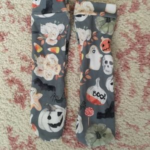 LITTLE LOPERS HALLOWEEN LEGGINGS